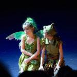 Tinkerbell en Peter Pan
